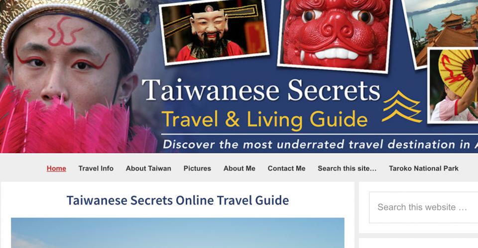 Converting taiwanese-secrets.com to WordPress