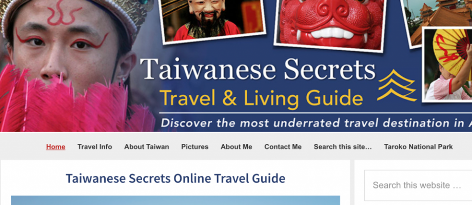 Converting taiwanese-secrets.com to WordPress