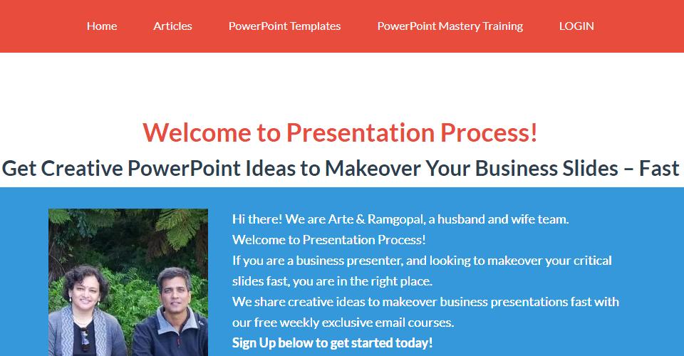 Moving Presentation-Process.com to WordPress