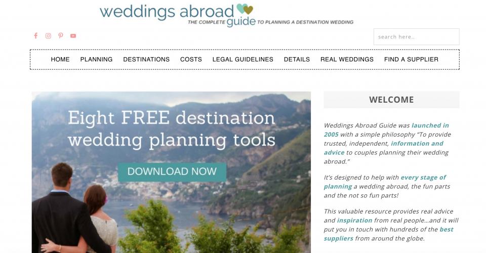 Weddings-abroad-guide.com to Weddingsabroadguide.com